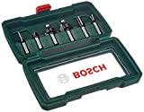 Bosch 6tlg. Hartmetall Fräser Set (für Holz,...