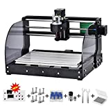 TOPQSC CNC 3018pro-M DIY Mini CNC Maschine, Holz...