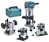 Makita Oberfräse rt0700cx3j affleureuse-Set, 18...