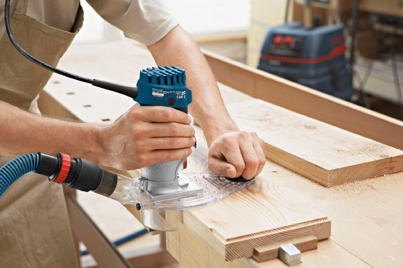 Bosch GKF 600 Oberfräse im Test