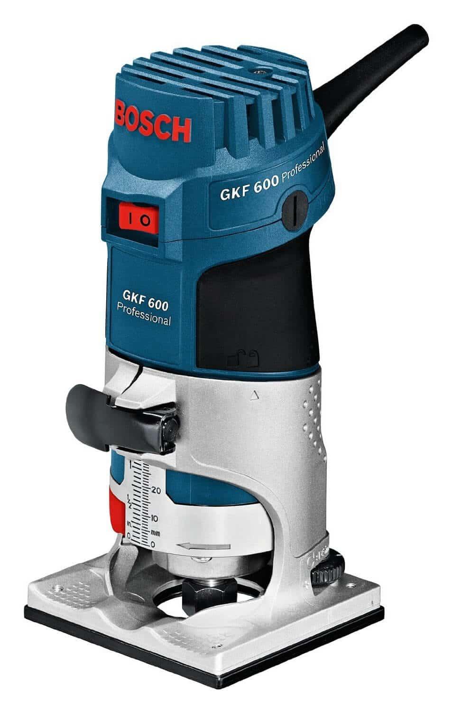 Bosch GKF 600 Oberfräse Test