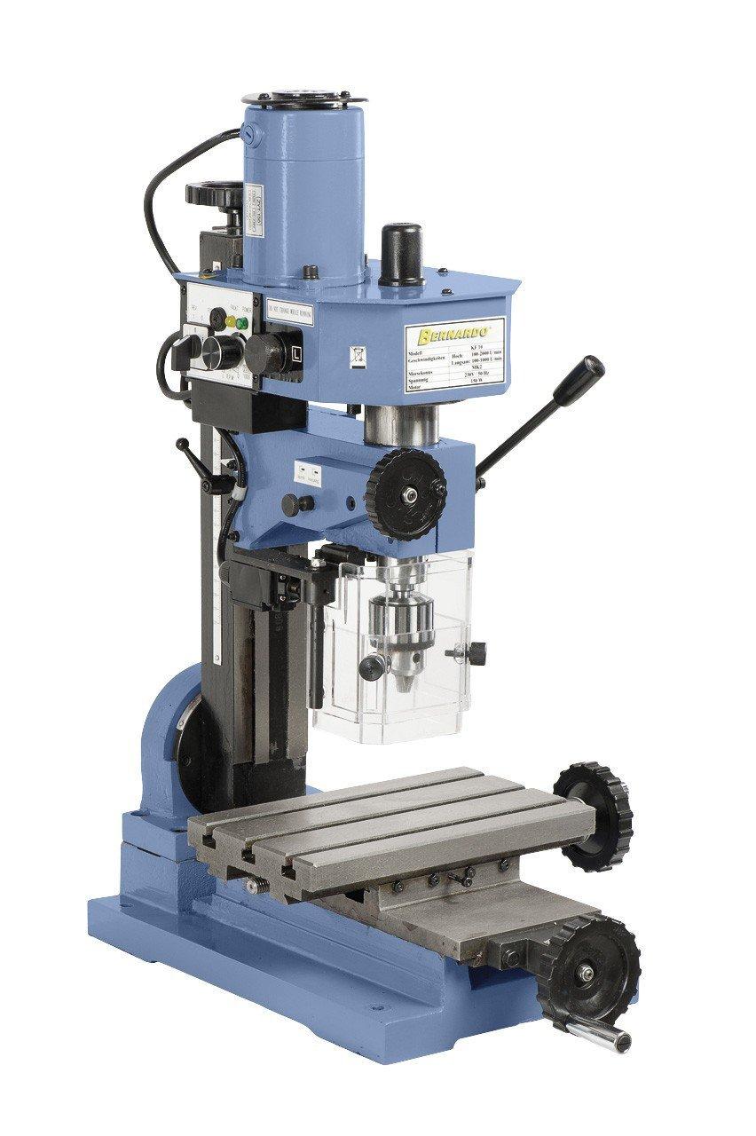KF 10 Bernardo Metall Fräsmaschine